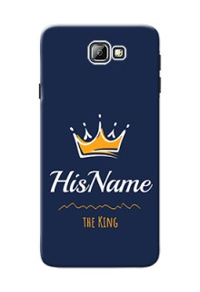 Galaxy On7 (2016) King Phone Case with Name