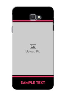 Samsung Galaxy On7 Prime Photo With Text Mobile Case Design