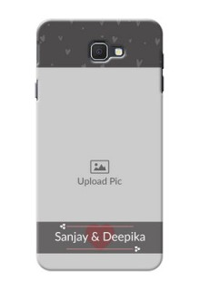 Samsung Galaxy On7 Prime love design with heart Design