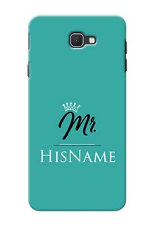 Galaxy On7 Prime Custom Phone Case Mr with Name