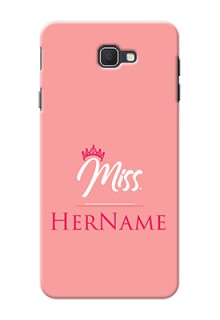 Galaxy On7 Prime Custom Phone Case Mrs with Name