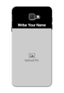 Galaxy On7 Prime Photo with Name on Phone Case