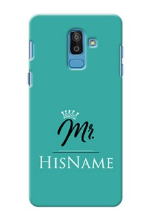 Galaxy On8 2018 Custom Phone Case Mr with Name