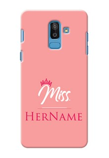Galaxy On8 2018 Custom Phone Case Mrs with Name
