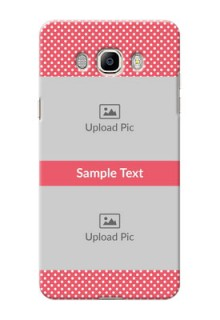 Samsung Galaxy On8 White Dots Mobile Case  Design