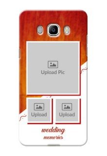 Samsung Galaxy On8 Wedding Memories Mobile Cover Design