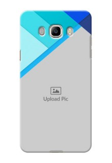 Samsung Galaxy On8 (2016) Blue Abstract Mobile Cover Design