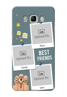Samsung Galaxy On8 (2016) 3 image holder with sticky frames and friendship day wishes Design