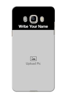 Galaxy On8 Photo with Name on Phone Case