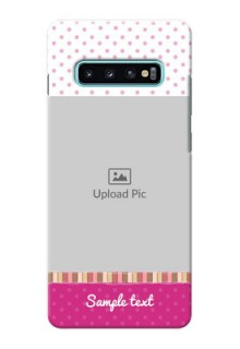 Samsung Galaxy S10 Plus custom mobile cases: Cute Girls Cover Design