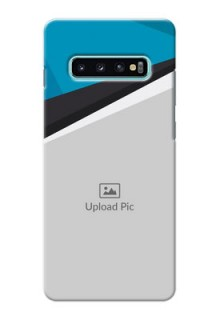 Samsung Galaxy S10 Plus Back Covers: Simple Pattern Photo Upload Design
