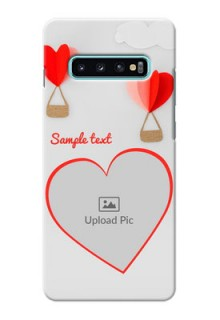 Samsung Galaxy S10 Plus Phone Covers: Parachute Love Design