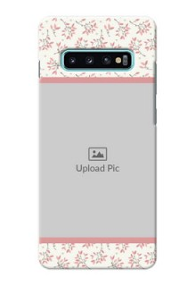 Samsung Galaxy S10 Plus Back Covers: Premium Floral Design