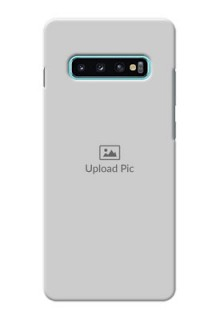 Samsung Galaxy S10 Plus Custom Mobile Cover: Upload Full Picture Design