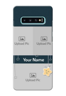 Samsung Galaxy S10 Plus Mobile Back Covers Online: Hanging Stars Design