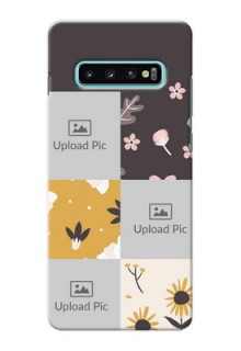 Samsung Galaxy S10 Plus phone cases online: 3 Images with Floral Design
