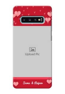 Samsung Galaxy S10 Plus Mobile Back Covers: Valentines Day Design