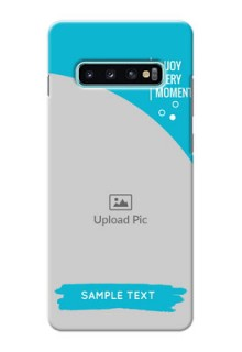 Samsung Galaxy S10 Plus Personalized Phone Covers: Happy Moment Design