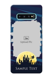 Samsung Galaxy S10 Plus Back Covers: Halloween Witch Design