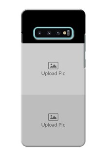 Galaxy S10 Plus 2 Images on Phone Cover