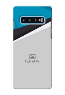 Samsung Galaxy S10 Back Covers: Simple Pattern Photo Upload Design