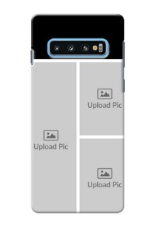 Samsung Galaxy S10 Custom Mobile Cover: Upload Multiple Picture Design