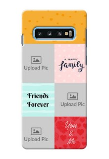 Samsung Galaxy S10 Customized Phone Cases: Images with Quotes Design