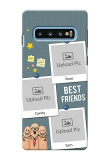 Samsung Galaxy S10 Mobile Cases: Sticky Frames and Friendship Design
