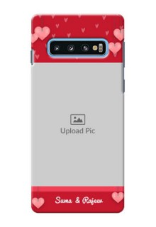 Samsung Galaxy S10 Mobile Back Covers: Valentines Day Design