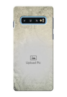 Samsung Galaxy S10 custom mobile back covers with vintage design