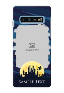 Samsung Galaxy S10 Back Covers: Halloween Witch Design