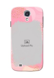 Samsung Galaxy S4 splashes backdrop with gold glitter sprinkles Design