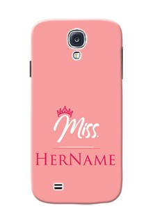 Galaxy S4 Custom Phone Case Mrs with Name