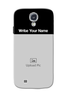 Galaxy S4 Photo with Name on Phone Case