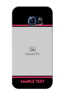 Samsung Galaxy S6 Edge Photo With Text Mobile Case Design