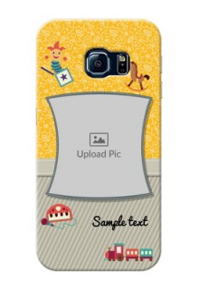 Samsung Galaxy S6 Edge Baby Picture Upload Mobile Cover Design