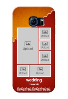 Samsung Galaxy S6 Edge Multiple Pictures Upload Mobile Case Design