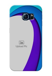 Samsung Galaxy S6 Edge Simple Pattern Mobile Case Design