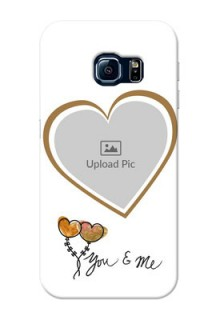 Samsung Galaxy S6 Edge You And Me Mobile Back Case Design