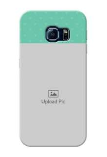 Samsung Galaxy S6 Edge Lovers Picture Upload Mobile Cover Design