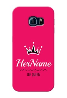 Galaxy S6 Edge Queen Phone Case with Name
