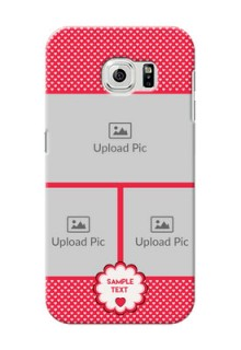 Samsung Galaxy S6 Bulk Photos Upload Mobile Cover  Design