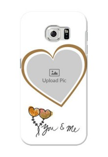 Samsung Galaxy S6 You And Me Mobile Back Case Design