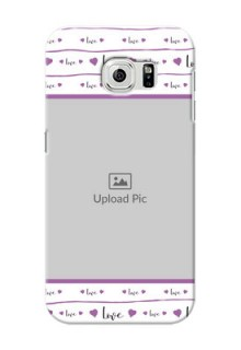 Samsung Galaxy S6 Couples Mobile Case Design