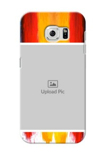 Samsung Galaxy S6 Colourful Mobile Cover Design