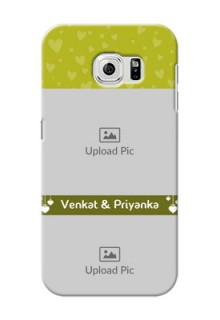 Samsung Galaxy S6 you and me design with hanging hearts Design Design