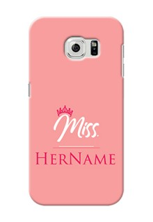Galaxy S6 Custom Phone Case Mrs with Name