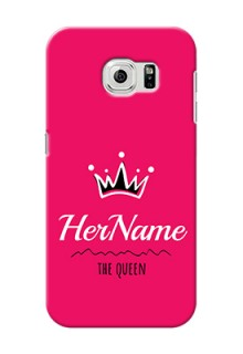 Galaxy S6 Queen Phone Case with Name