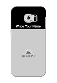 Galaxy S6 Photo with Name on Phone Case
