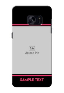 Samsung Galaxy S7 Edge Photo With Text Mobile Case Design